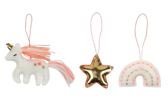 Magical Felt Tree Decoration Set