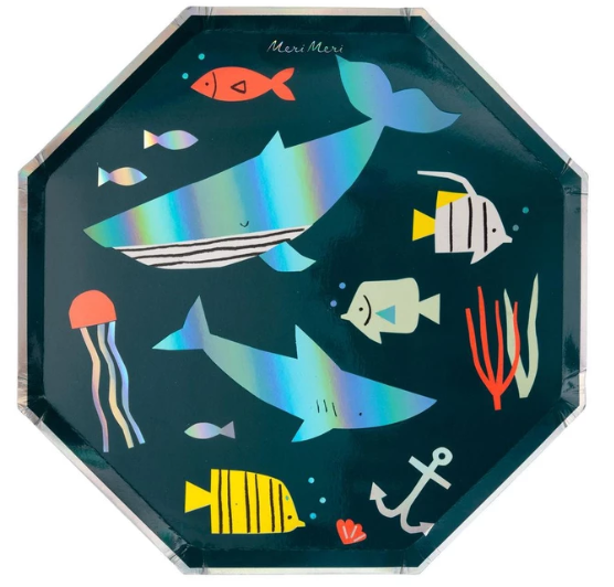 Under The Sea- Large Plate