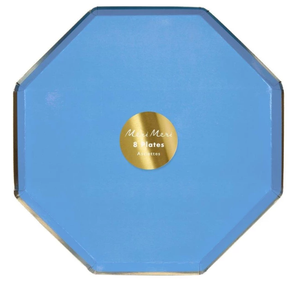 Bright Blue- Large Plate