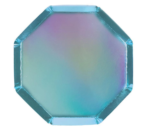 Holographic Blue- Small Plates