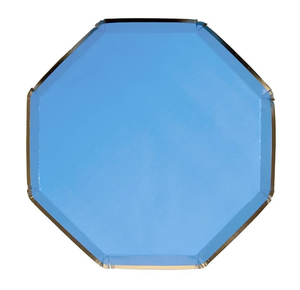 Bright Blue Small Plate