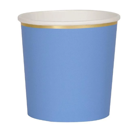 Bright Blue Cups