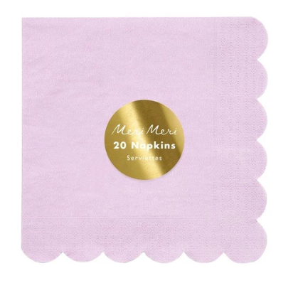 Waterlemon Kids, MERI MERI, Lilac Large Napkin, Napkin, napkin, Party, Tableware