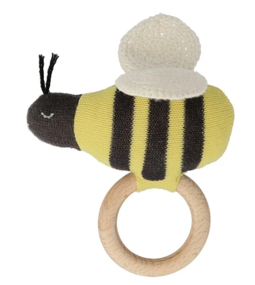 Waterlemon Kids, MERI MERI, Bumble Bee Rattle, Toy, Rattle, Toy, Toys
