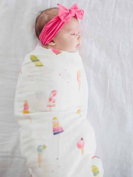 Muslin Swaddle- Ice Cream Social