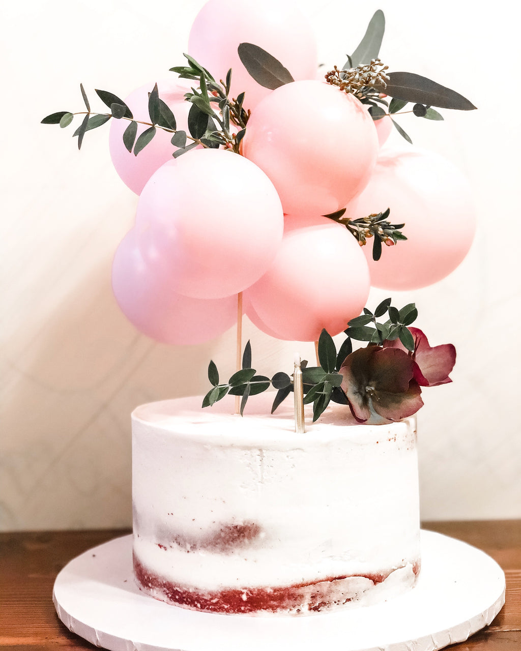 Balloon Garland Cake Topper