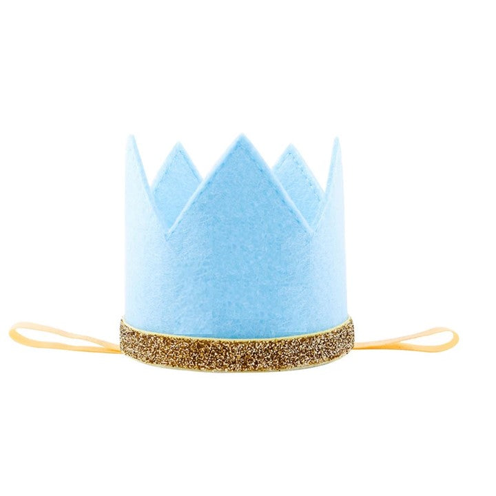 Boy Crown Baby Blue