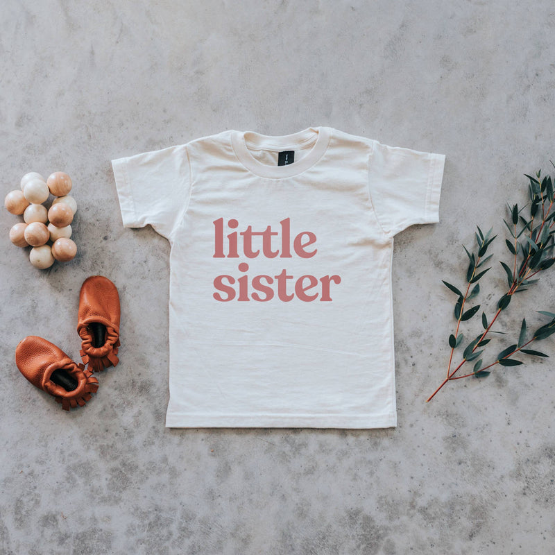 Little Sister Organic Kids Tee