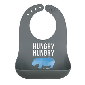 Hungry Hungry Hippo Bib - Waterlemon Kids - Bib