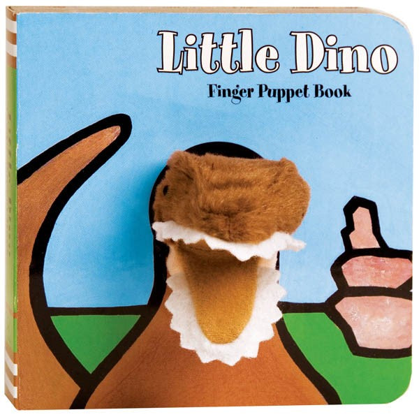Little Dino Finger Book