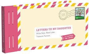 Letters To My Daughter - Waterlemon Kids - Book