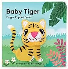 Waterlemon Kids - Baby Tiger Finger Book - Book