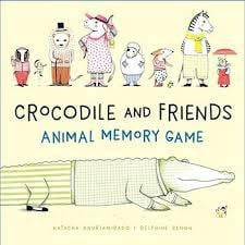 Crocodile and Friends- Animal Memory Game - Waterlemon Kids - Toy