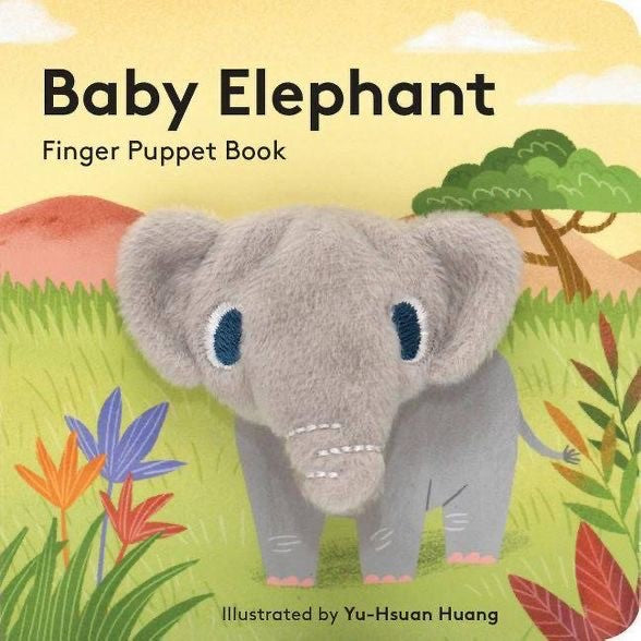 Baby Elephant Finger Book
