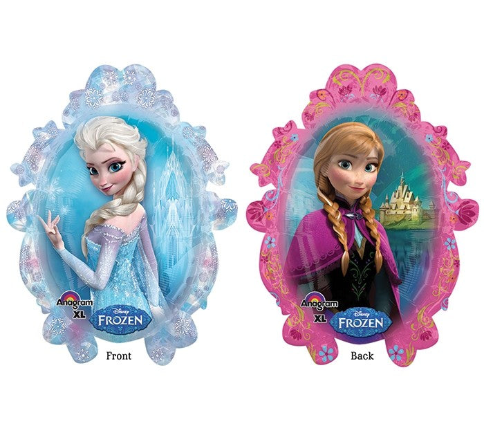 "Waterlemon Kids, Waterlemon Kids, Frozen XL Supershape Foil Balloon- 32"", Balloon, Balloons, disney, frozen, helium-filled"