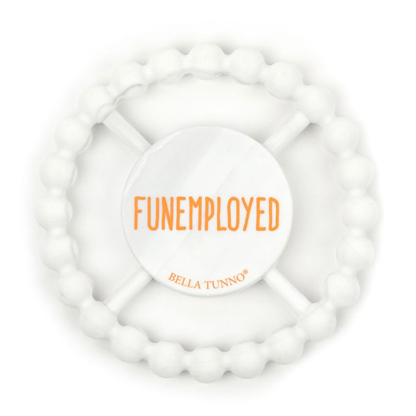 Funemployed Marble Teether