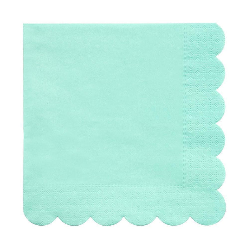 Waterlemon Kids, MERI MERI, Mint Large Napkin, Napkin, napkin, Party, Tableware
