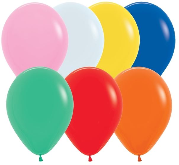 "Helium Bar - 11"" Latex with Helium"