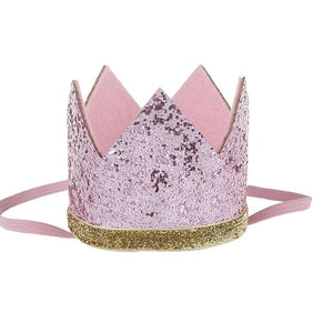 Sparkle Crown- Pink