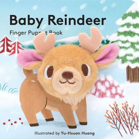 Baby Reindeer Finger Book