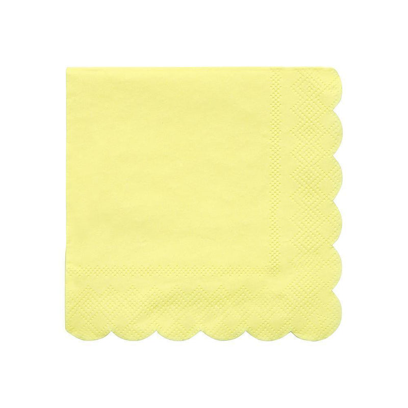 Pale Yellow Small Napkin