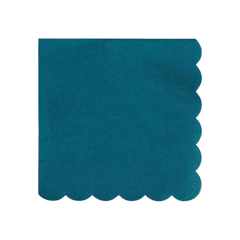 Dark Teal Small Napkin