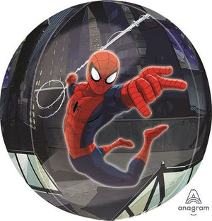 "Waterlemon Kids, BR BALLOONS, Helium Foil Balloon- 16"" Spider Man Orbz, Balloon, Balloons, helium-filled"