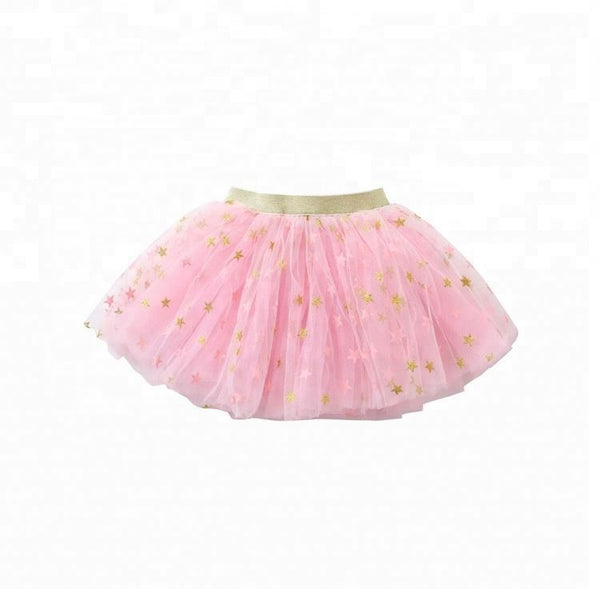 Tutu- Pink with Gold Star