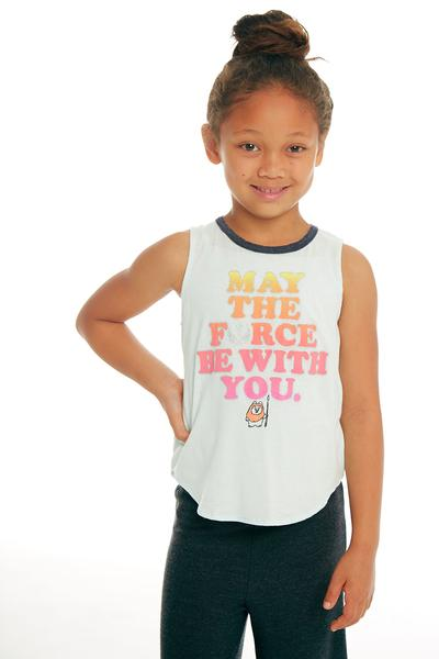 Star Wars Girls Glitter Tank