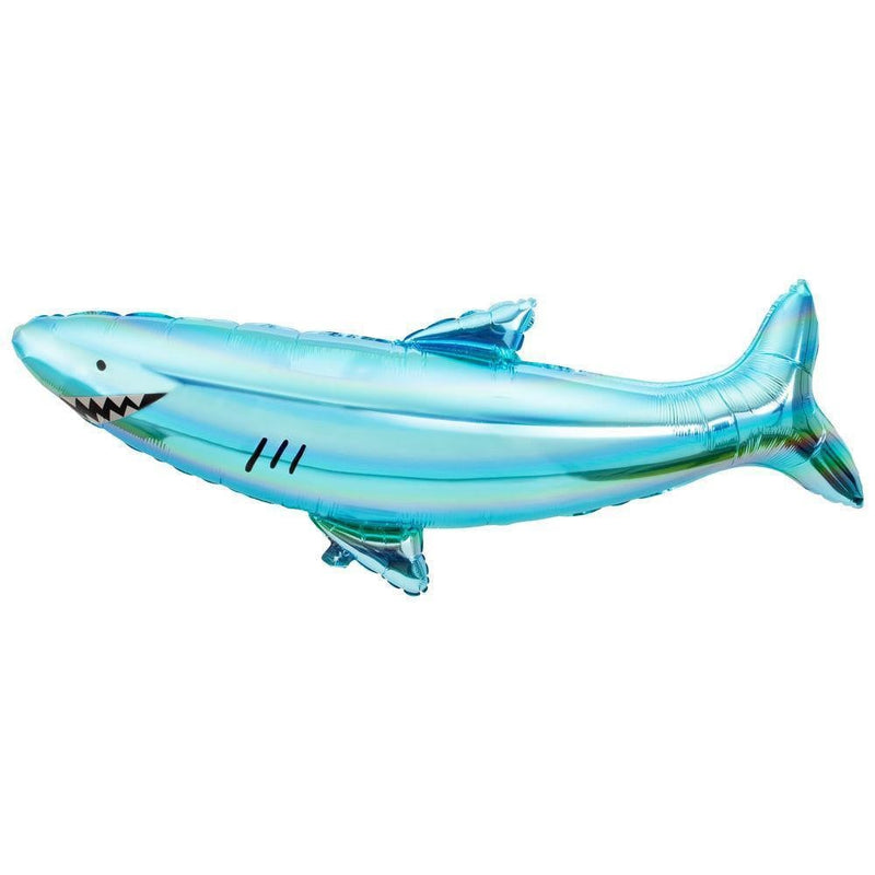 Waterlemon Kids, MERI MERI, Helium Foil Balloon- Shark, Balloon, Balloons, helium-filled