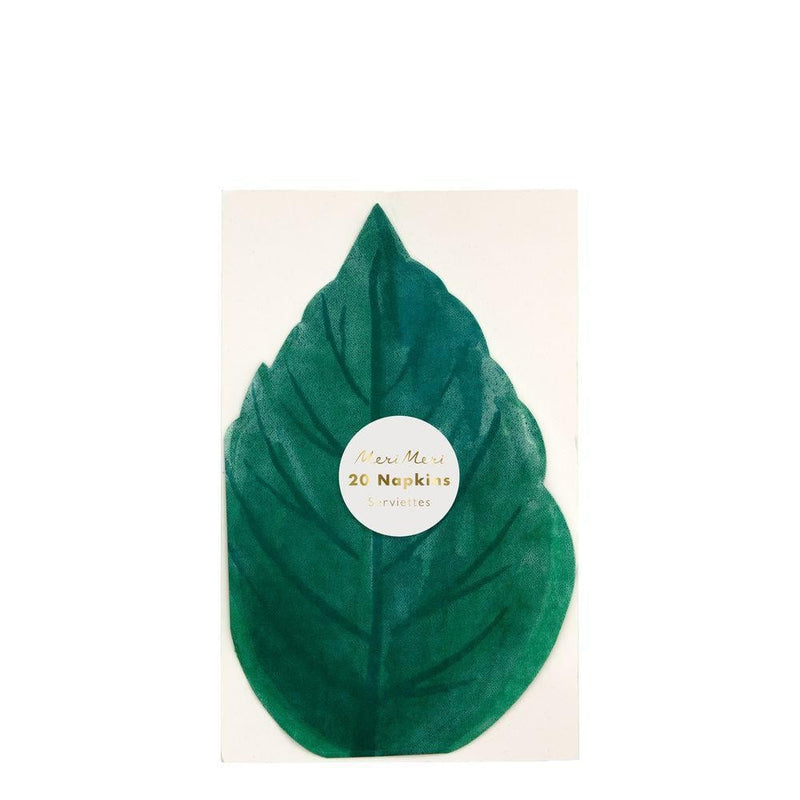 Rose Garden Leaf Napkins