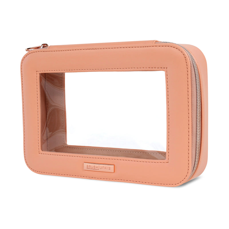 PEACH COSMETIC BAG