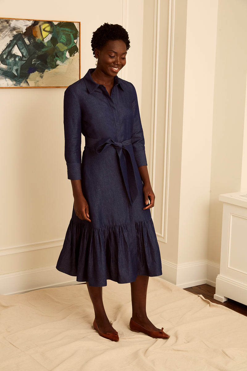 Meadow Dress - Chambray