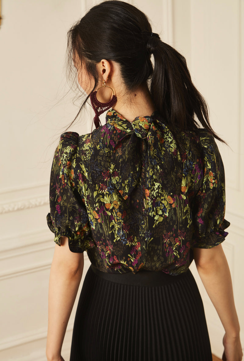 Handkerchief Blouse - English Garden