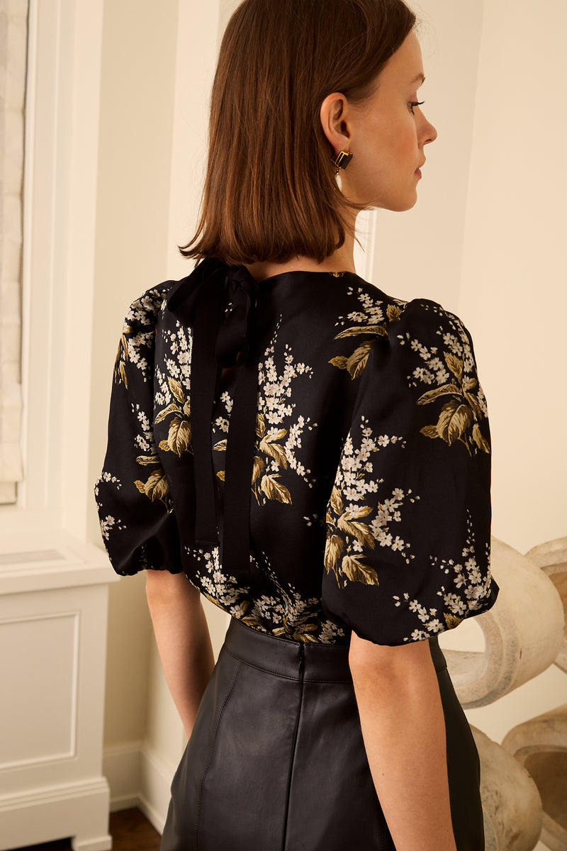 Snow Drop Blouse - Autumn Bouquet