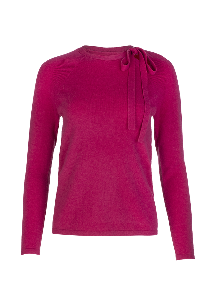 Iris Sweater - Fuchsia