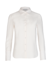 Classic Button Down Blouse - Ivory
