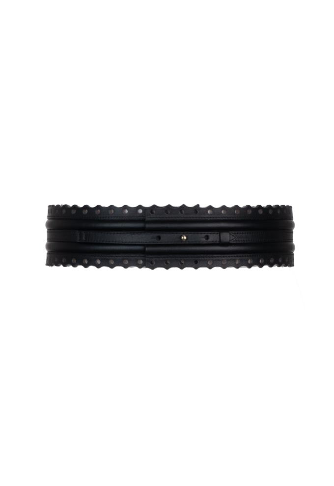 Fretwork Belt - Black