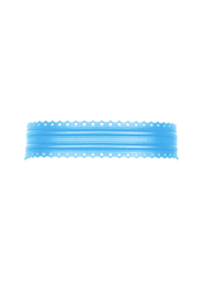 Fretwork Belt - Aqua