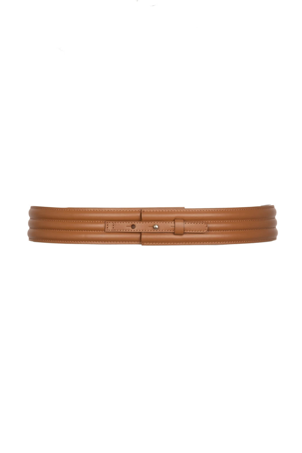 Banded Belt - Natural Leather