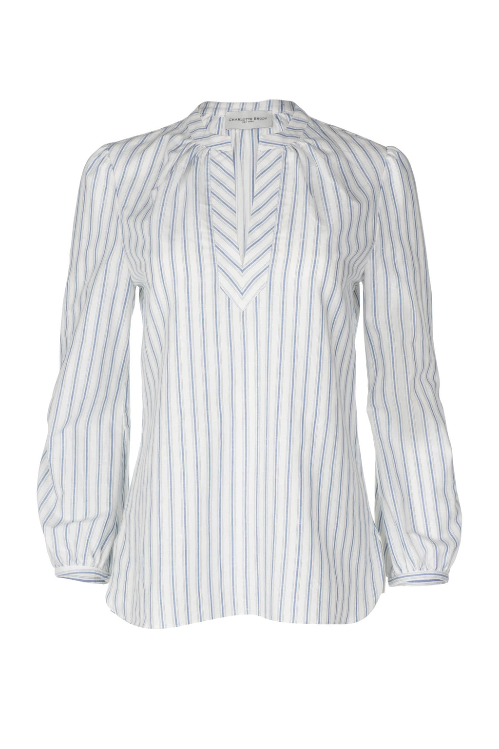 Tunic - Blue and White Stripe