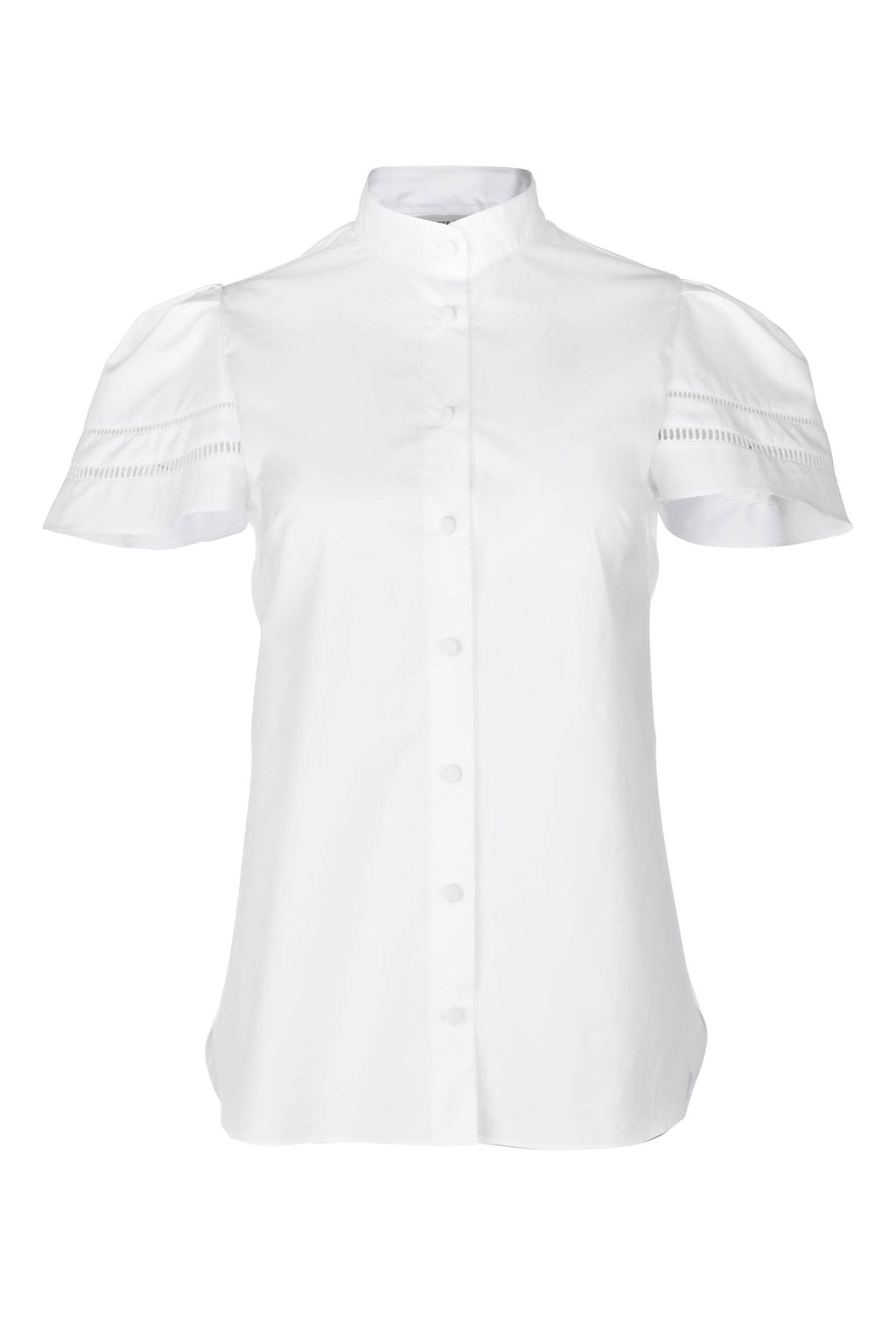 Trellis Blouse - White