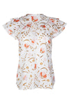 Mariposa Blouse - Blush Cottage Garden