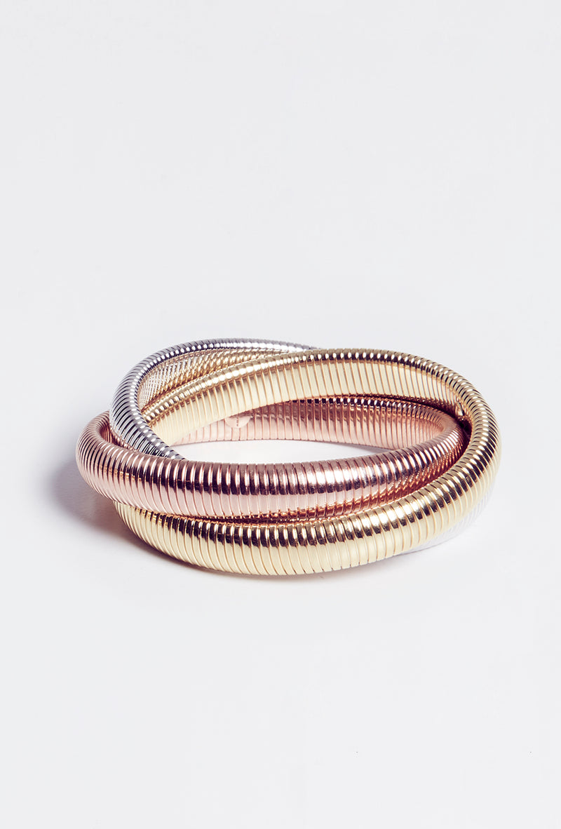 Triple Cobra Bracelet - Multi