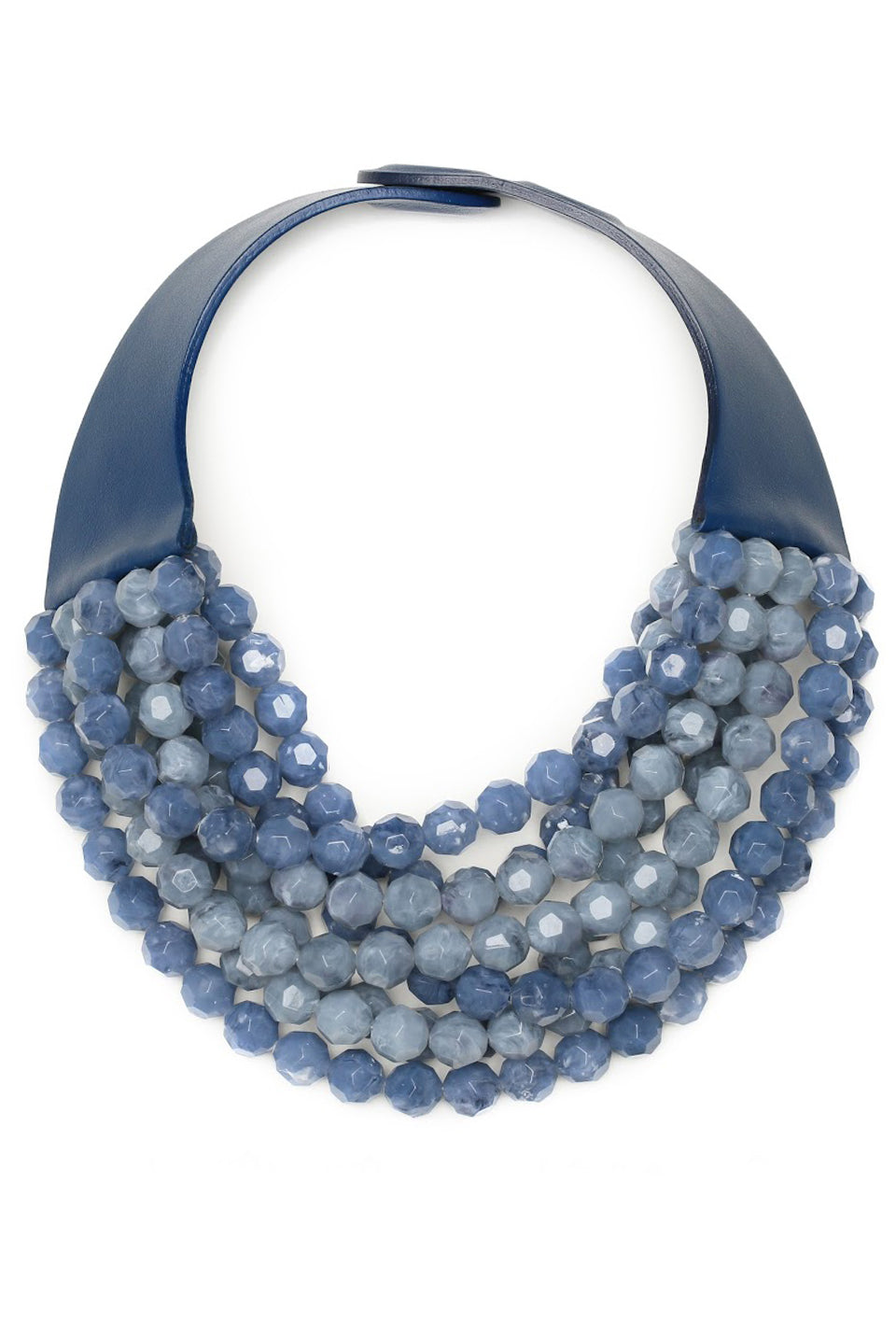 Two Toned Bella Necklace - Cornflower