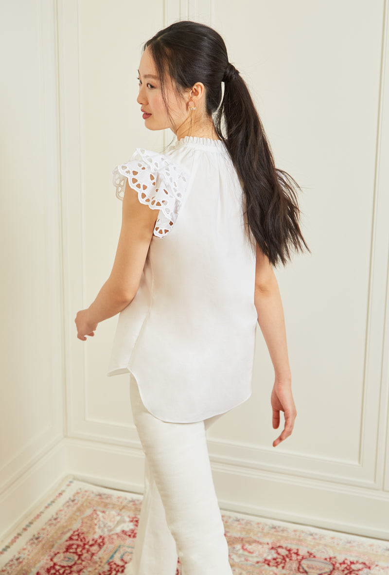 Butterfly Blouse - White