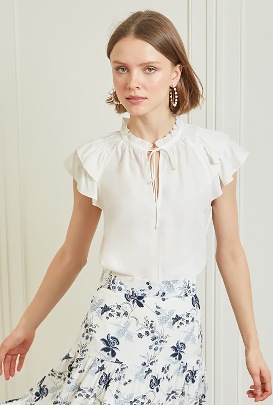 Butterfly Blouse - Ivory