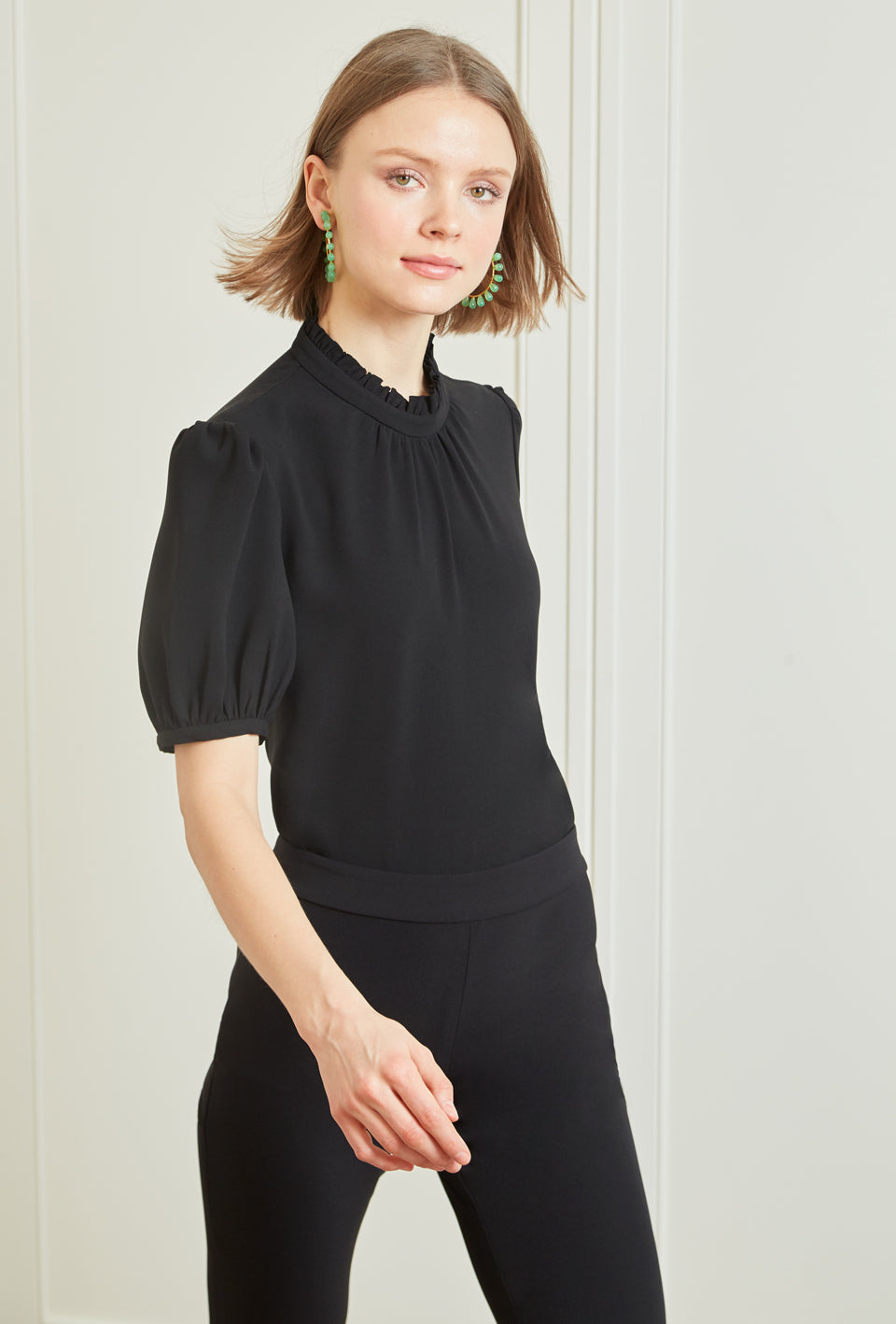 Daisy Blouse - Black