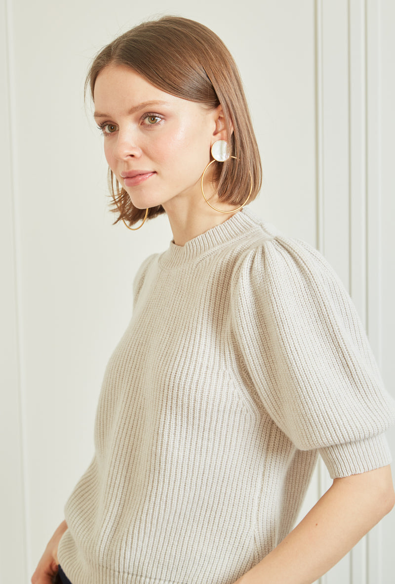 Cleo Pullover - Oatmeal