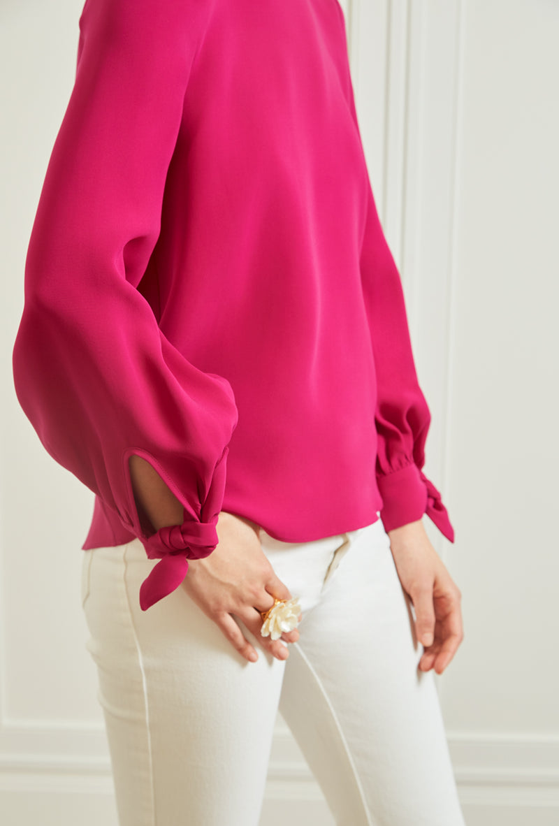 Iris Blouse - Hot Pink